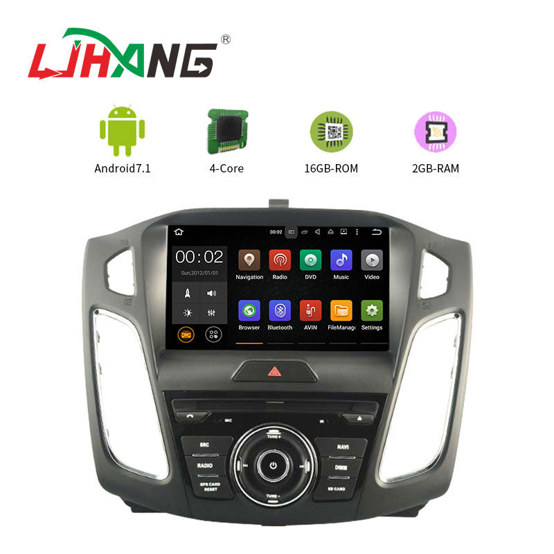 9 Inch Touch Screen Ford Car DVD Player Android 7.1 With Full Euro Map Online Map